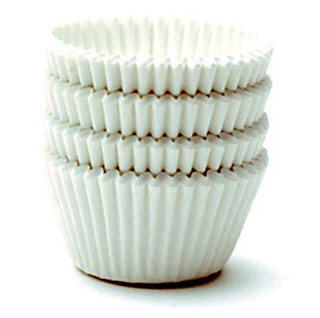 Muffin Cups White Pack of 48