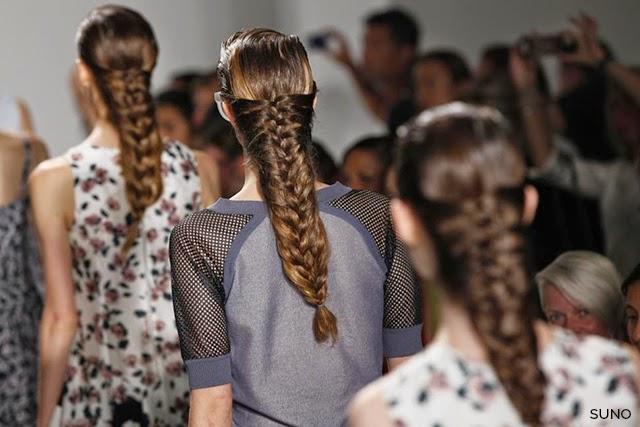 Örgülü Saç Trendi 2015