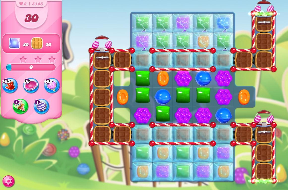 Candy Crush Saga level 5165