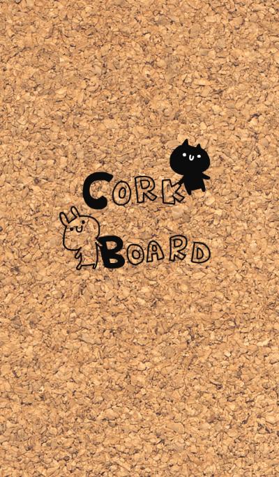 CORK BOARD !!