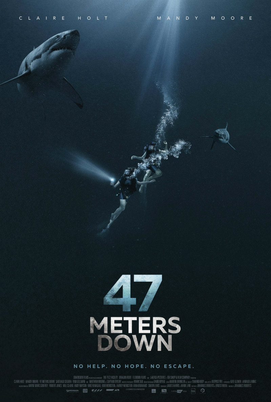47 metres down poster