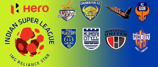 ISL schedule, Hero Indian super league full schedule image
