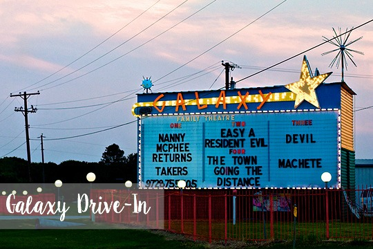 Drive-In theatre, Texas