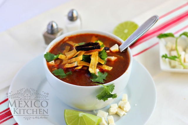 Tortilla soup authentic recipe