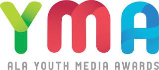 YMA ALA Youth Media Awards logo