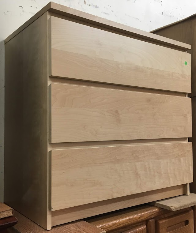 Birch 3 Drawer Chest by IKEA - $40 SOLD