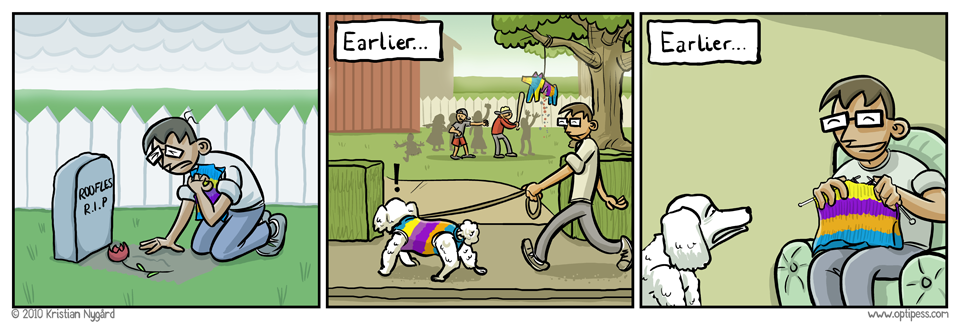 Los perros y las piñatas