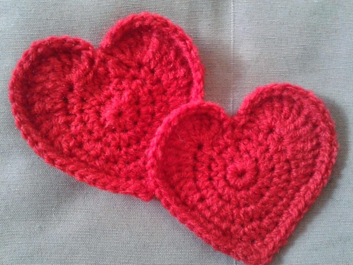 Tuto Un Cœur Au Crochetla Princesse Au Petit Poids