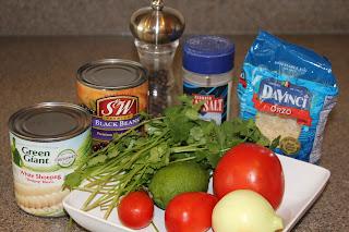 Southwest Orzo Pasta