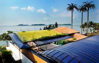 solar panels roof idea