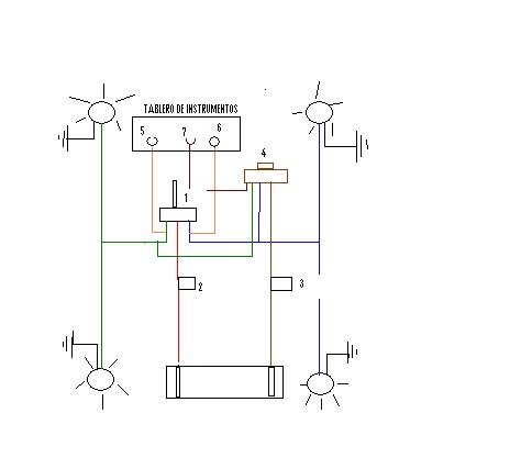 las luces de cruce Chrysler Dodge Wiring Diagram 76 dodge truck wiring diagram