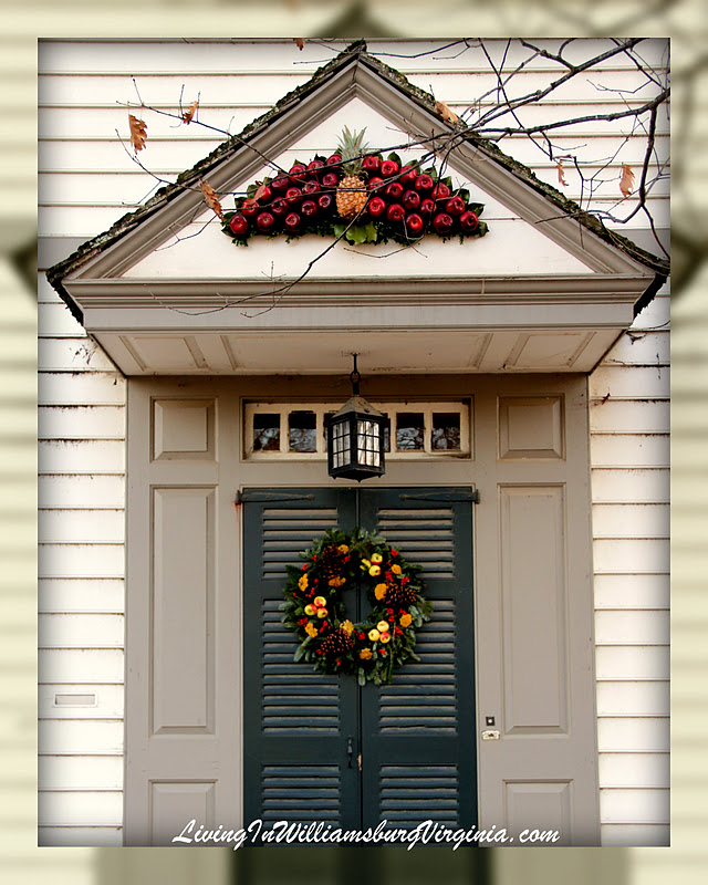 Williamsburg Christmas Decorating Ideas: Living In Williamsburg, Virginia: Colonial Christmas