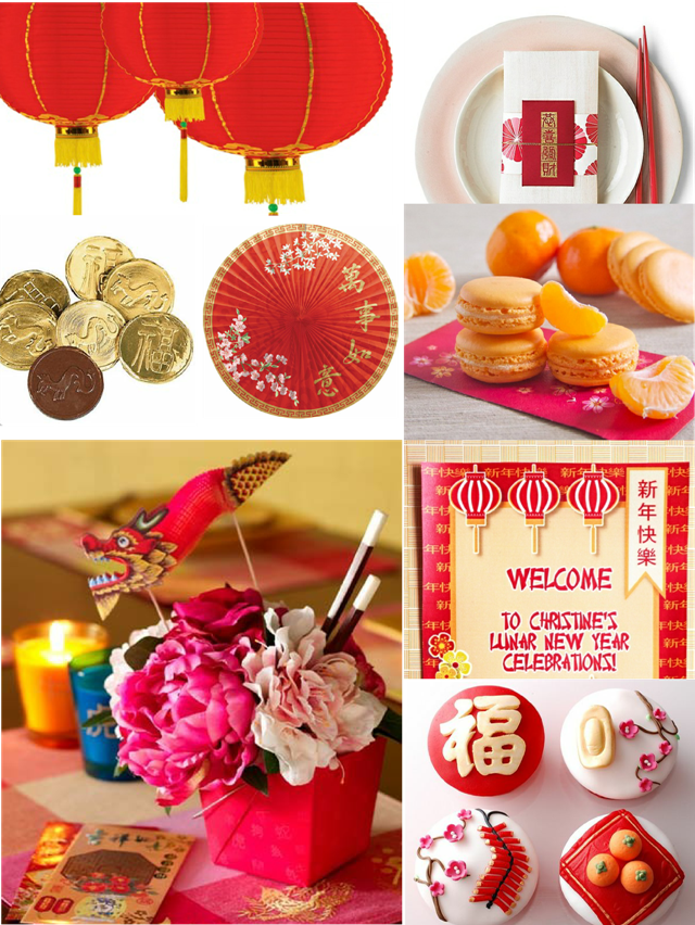 Last Minute Chinese New Year Party Ideas - via BirdsParty.com