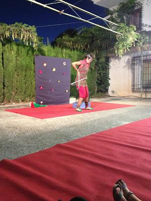 clown, actuaciones en campings, campings, teatro infantil, teatro niños, teatro de calle,