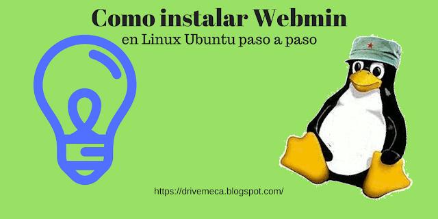 Como instalar Webmin en Linux Ubuntu paso a paso