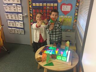 2 Students in Preppy K centers
