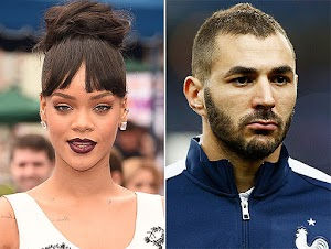 Rihanna and Karim Benzema new celebrity couple?