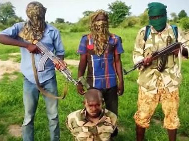 Photos: Boko Haram releases 1st beheading video since joining ISIS