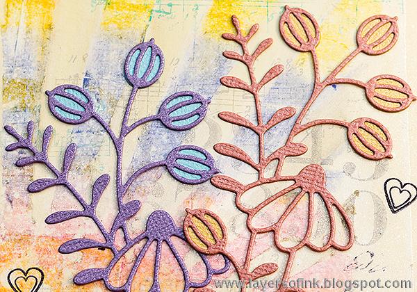 Layers of ink - Pastel Distress Crayon Tutorial by Anna-Karin