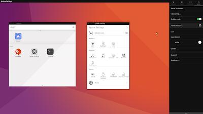 Unity 8 Ubuntu 16.10 Yakkety Yak
