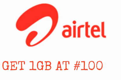 Airtel 1GB With 100 Naira