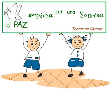 Amiguito En Línea Frases De Paz Para Los Niños