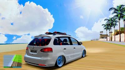 Vw SpaceFox Na Ar Com Som para GTA San Andreas