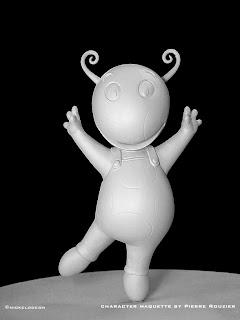 """pierre rouzier_Nickelodeon- """"uniqua"""" maquette"""