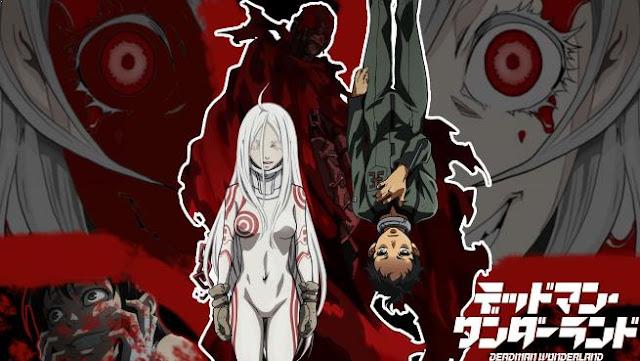 Deadman Wonderland - Anime Mirip Tokyo Ghoul