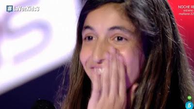 Nerea: Dangerous Woman |  Audiciones a ciegas La Voz Kids