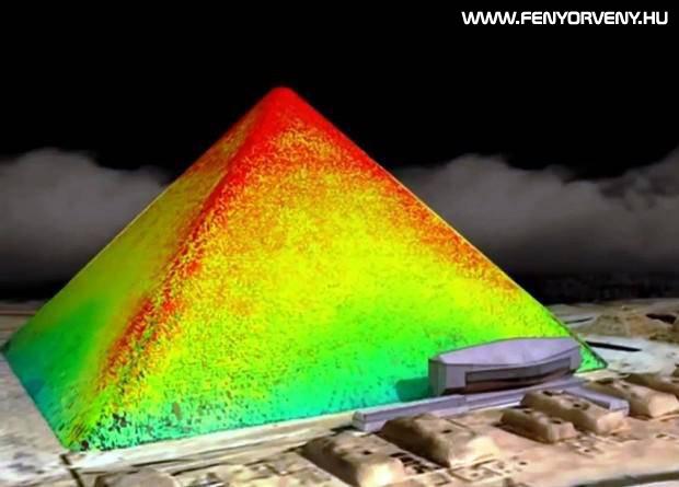Hőmérsékleti anomáliák a gízai nagy piramisban