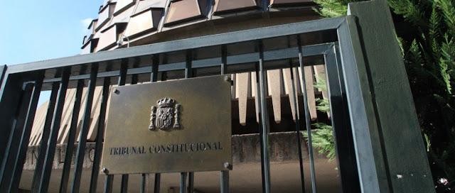 Tribunal Constitucional y separacion de poderes