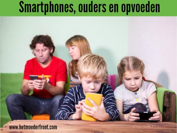 smartphones, ouders en opvoeden