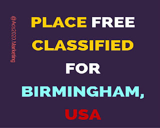 Place Free classified for Birmingham.USA Classifieds Sites-at-Ads2020.marketing-500x400