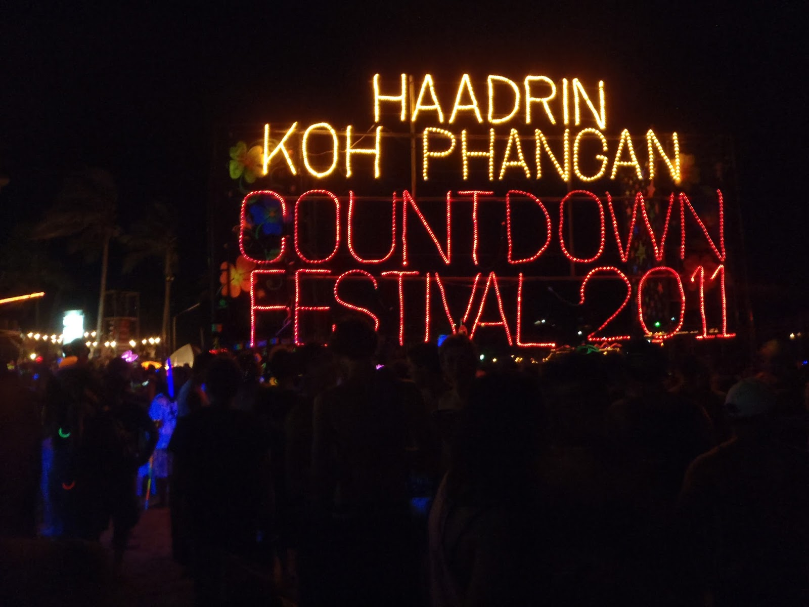 Ko Pha Ngan Thailand Full Moon Party New Years Eve