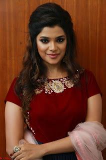 Actress Aathmika in lovely Maraoon Choli ¬  Exclusive Celebrities galleries 093.jpg