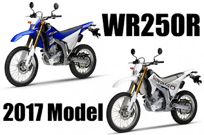 2017 WR250 Blue and White