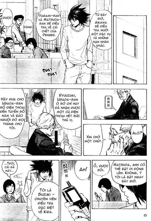 Death Note chapter 015 trang 15
