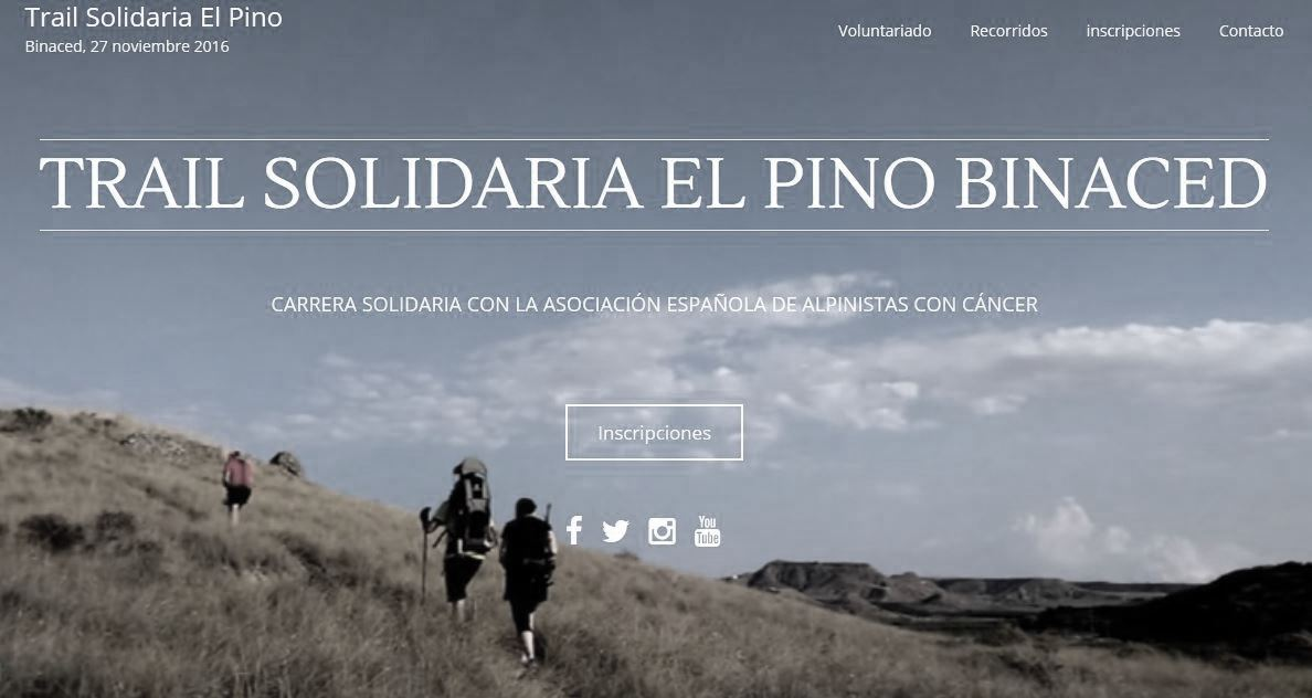 I Trail Solidario El Pino-Binaced