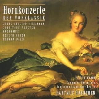 Horn Concertos - Georg Philipp Telemann /Christoph Förster / Joseph Haydn / Johann Beer (Damm, Carl Philipp Emanuel Bach