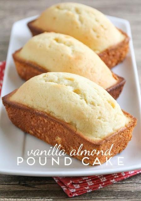 Vanilla Almond Pound Cake