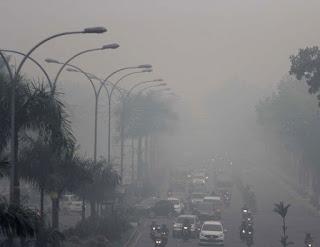 Asap di Riau