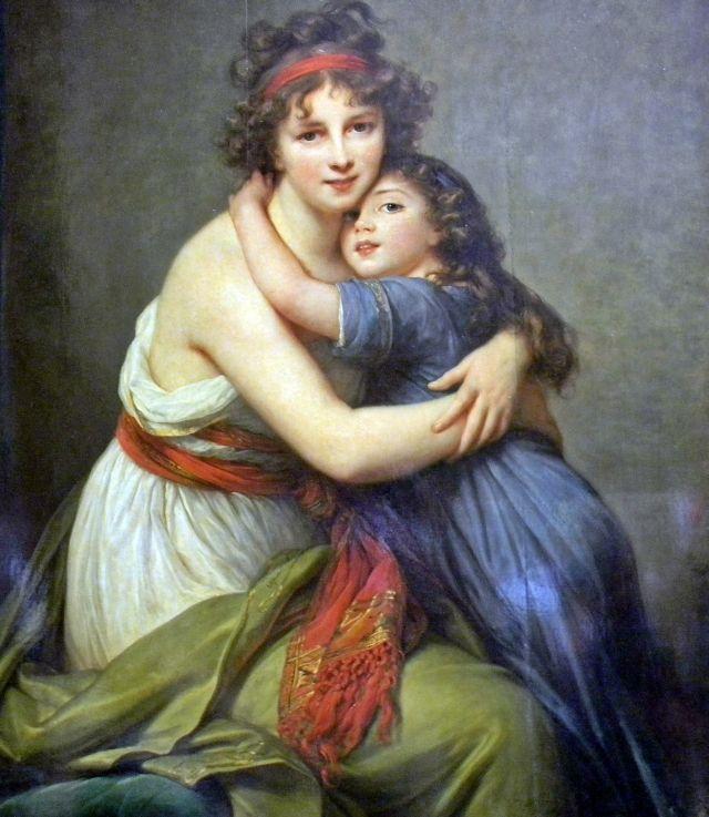 Elisabeth Vigee-Lebrun, Paryż, Luwr