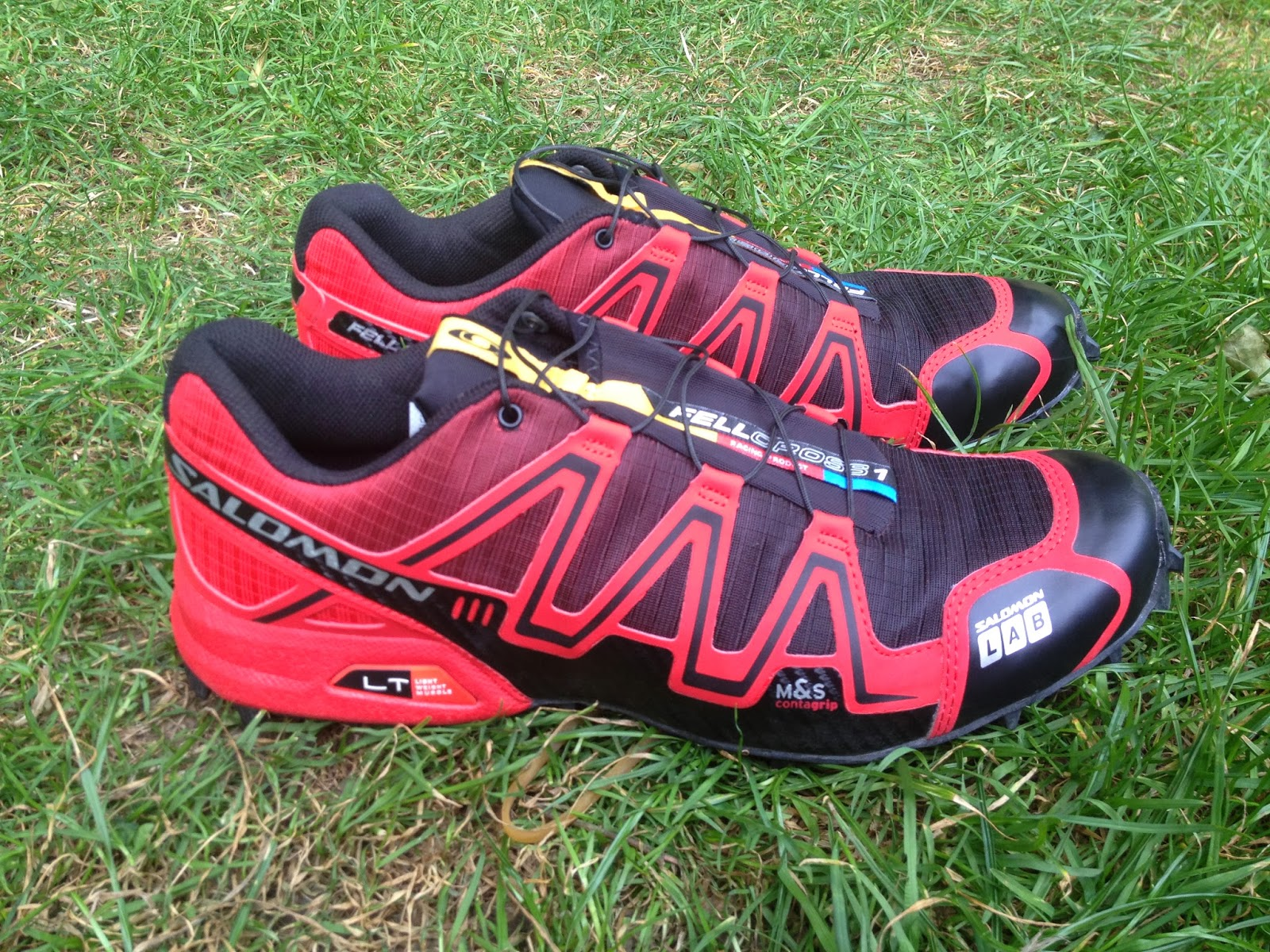 CavemanClarke: Salomon S Lab Fellcross 1 Review