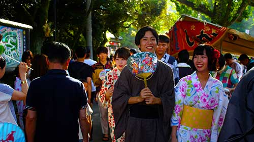 Okazaki Hanabi Festival, Aichi.