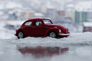 Stock image of Volkswagen beetle