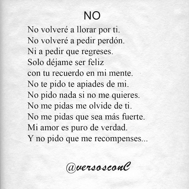 NO poema