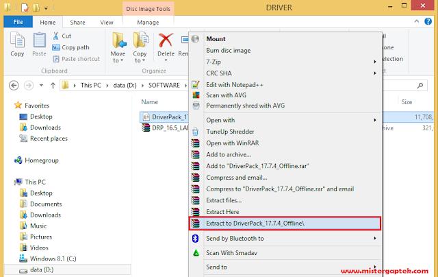 Cara Membuka File .ISO dengan Mengekstraknya