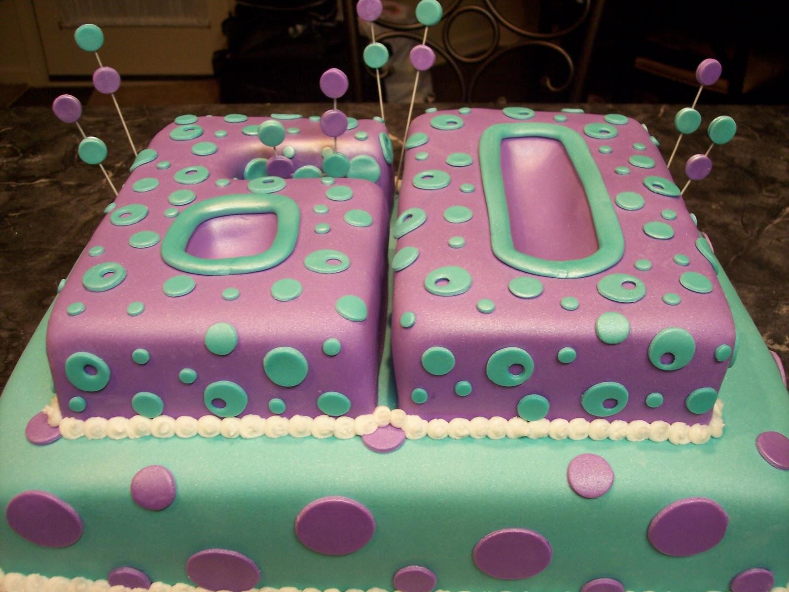 Mymonicakes Number 60 Cake