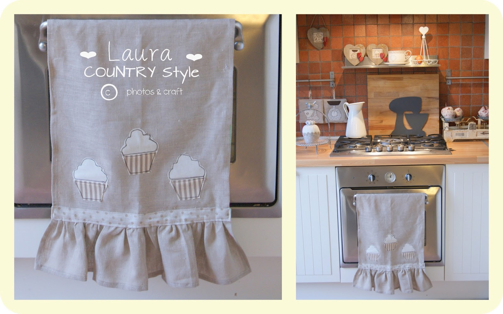 Laura country style: My home: nuovi accessori in cucina